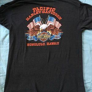 6e15d96f Harley-Davidson Shirts - Harley Davidson 3D Emblem HD 1988 T-shirt RARE XL